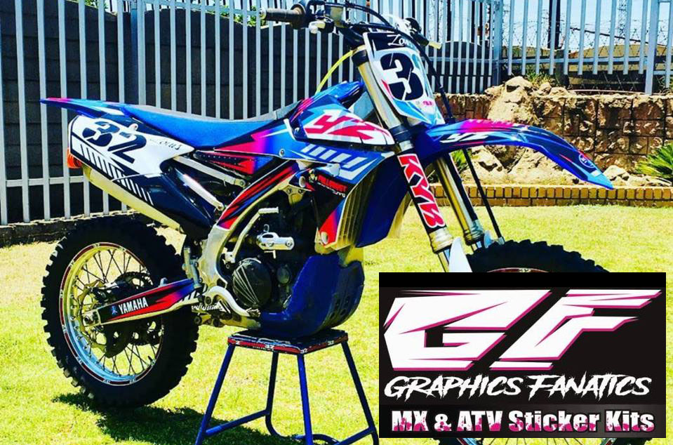 Graphics Fanatics Bike Stickers Dirt Bike Sticker Kits